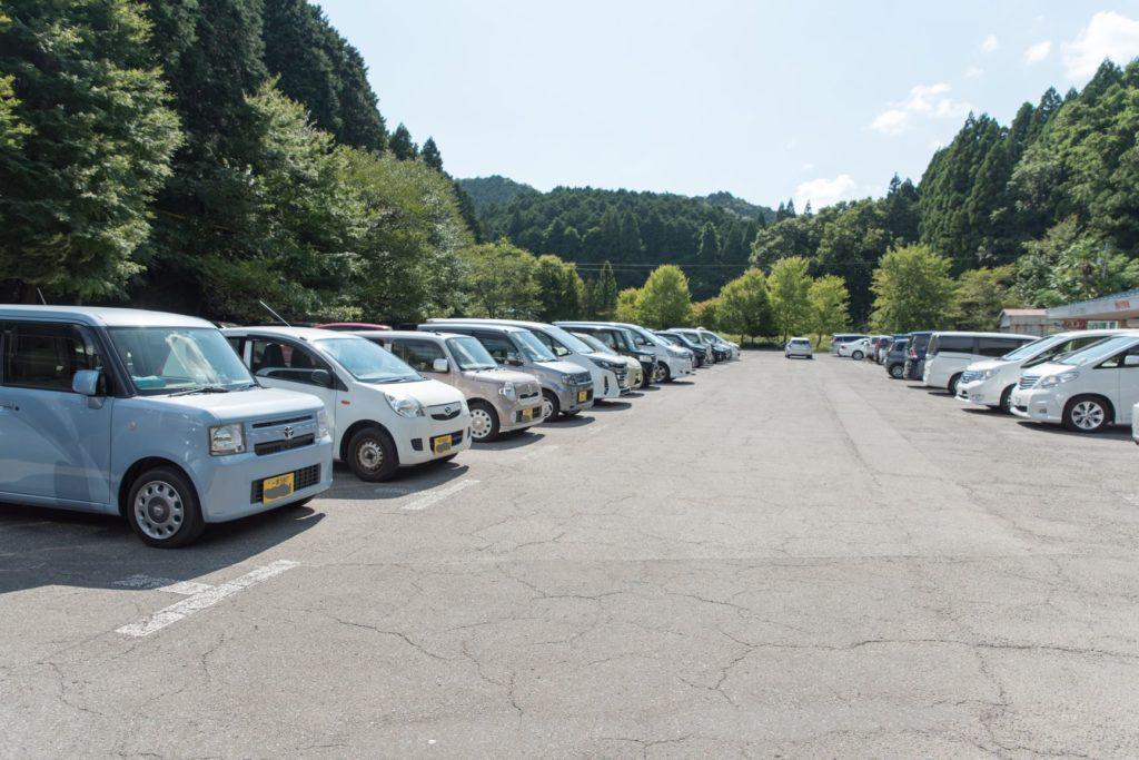 関ヶ原鍾乳洞 駐車場