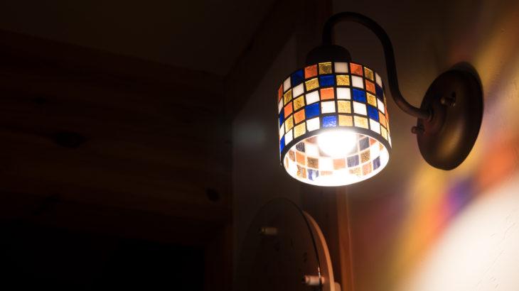 新築の照明 常夜灯の代わりにブラケットライトがおしゃれ!