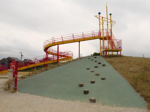 岐阜県のおすすめ公園 大野町 ふれ愛公園 遊具や設備の写真