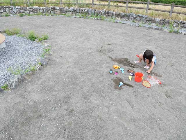 岐阜県のおすすめの公園 大野町 ふれ愛公園 遊具や設備の写真